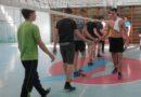 Финальная игра первенства колледжа по волейболу