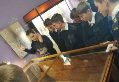 Студенты посетили выставку «История и археология Боспора»